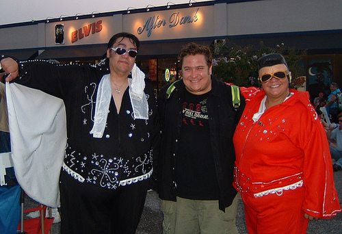 Me and the Elvis Couple!