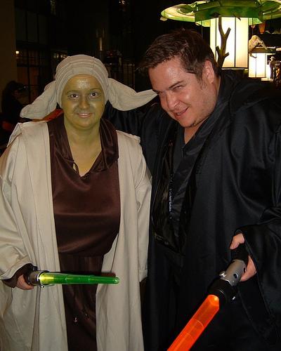 Yoda & Anakin!