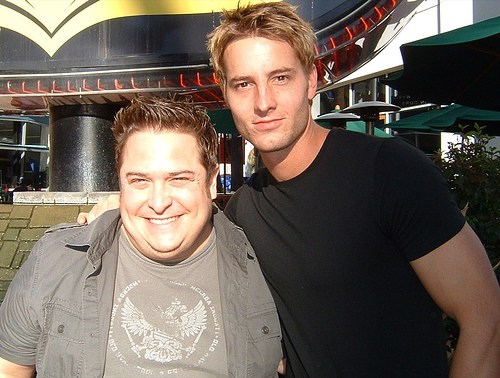 Me & Justin Hartley (the original and best Fox Crane) @ PASSIONS event!