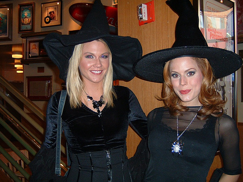 Emily Harper (Fancy) & Erin Cadillo (Esme) from PASSIONS