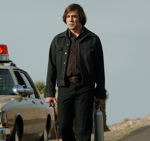 "Javier Bardem in ""No Country For Old Men"" (2007)"