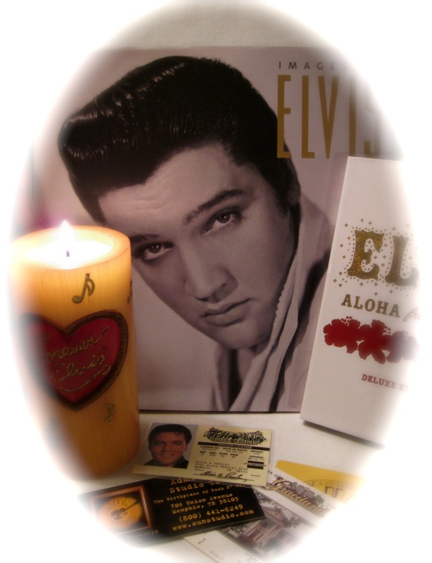 Elvis Presley birthday vignette by T. Romero! (Jan. 8, 2008)