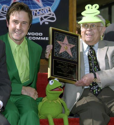 David Arquette, Kermit & Johnny Grant!