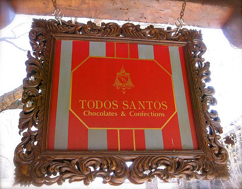 Todos Santos sign! (March 2008)