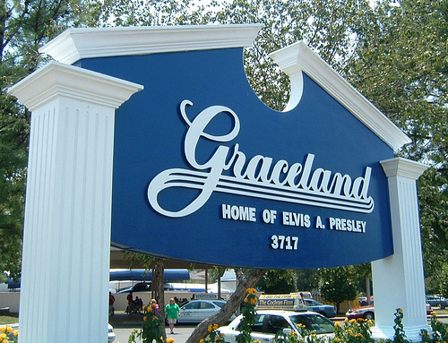 "Graceland pic used on ""Ribs Paradise"""