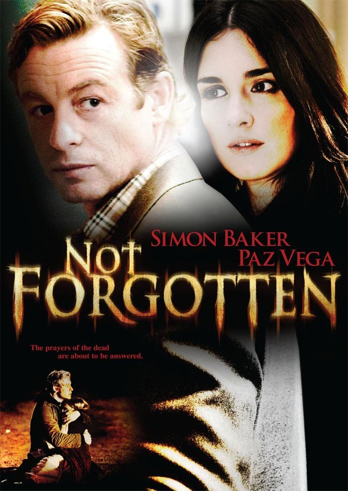 """""""Not Forgotten"""" DVD cover art"""