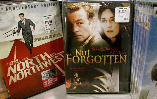 """Not Forgotten"" on the shelf at Best Buy!!"