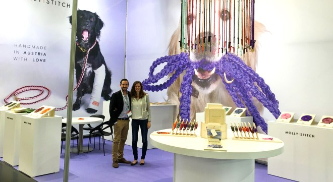 Interzoo 2016 / Molly & Stitch booth
