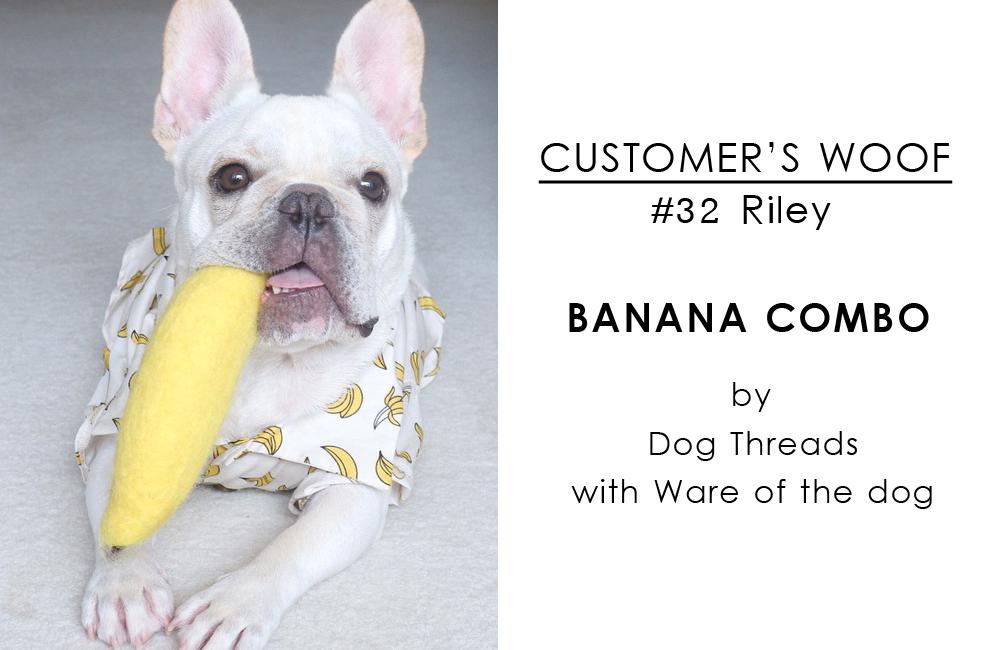 お客さまの声#32 フレンチブルドッグのライリーくんとバナナセット / BEAST COAST