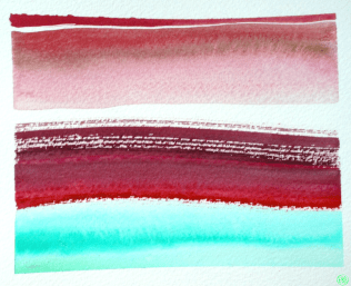 gouache stripes almost landscape 1B