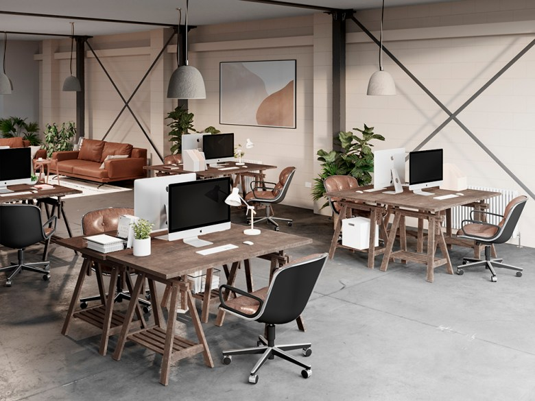 Eat Work Art workspace