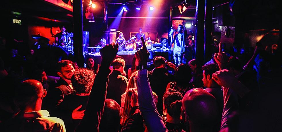 live music venues east london