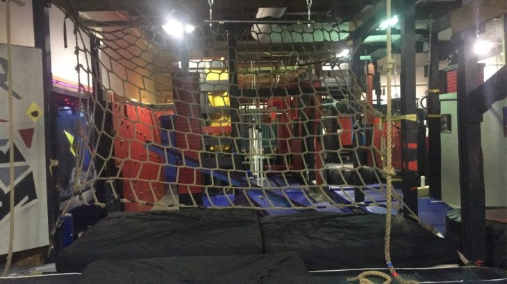 Cargo Net and Rope Climbs