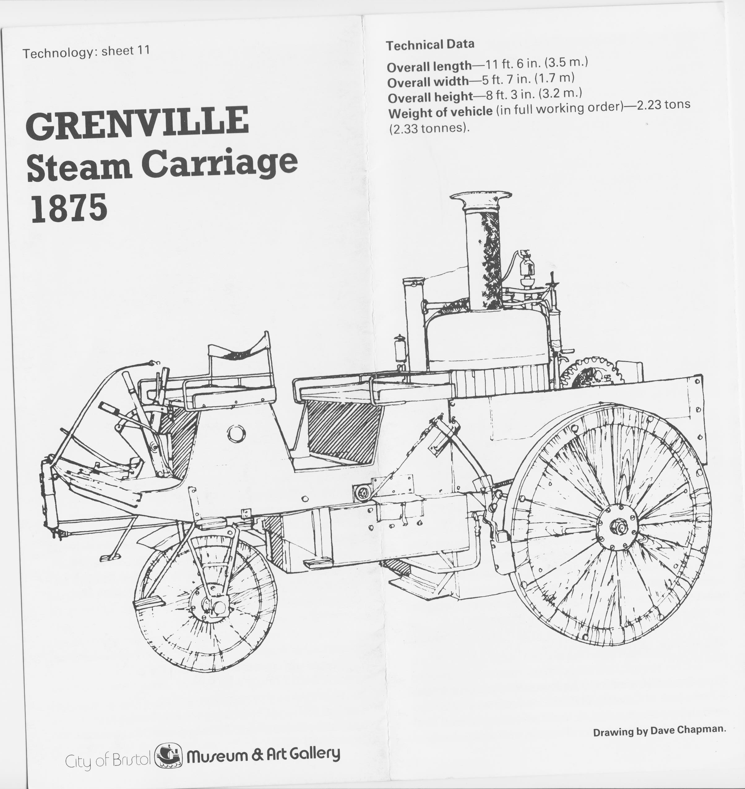 Grenville Steam Carriage