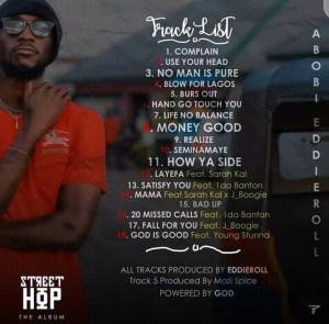 "[Album] Abobi Eddieroll -""Street Hop"" 4"