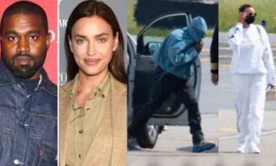 Kanye West & Irina Shayk Return To The U.S Together After Birthday Romantic Getaway 38