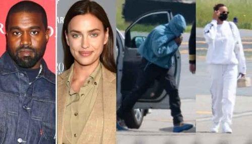 Kanye West & Irina Shayk Return To The U.S Together After Birthday Romantic Getaway 1