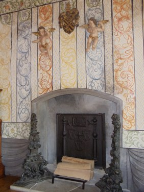 Fireplace in the Bailiff's Room