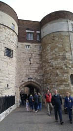 Entrance to Tower of London