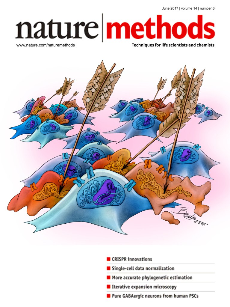 Nature Methods Cover – An Arrow Poison for CRISPR