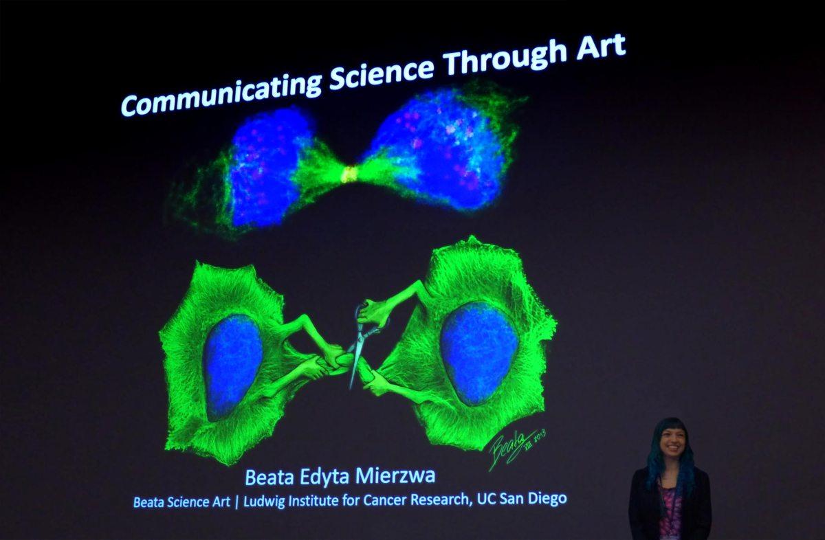 Communicating science through art