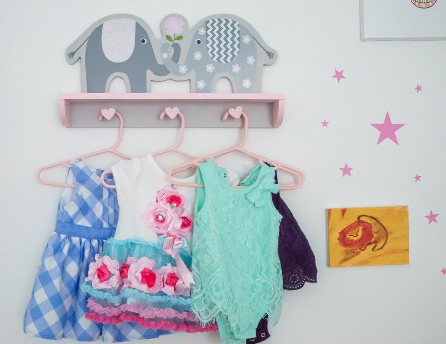 Baby nursery wall decorations