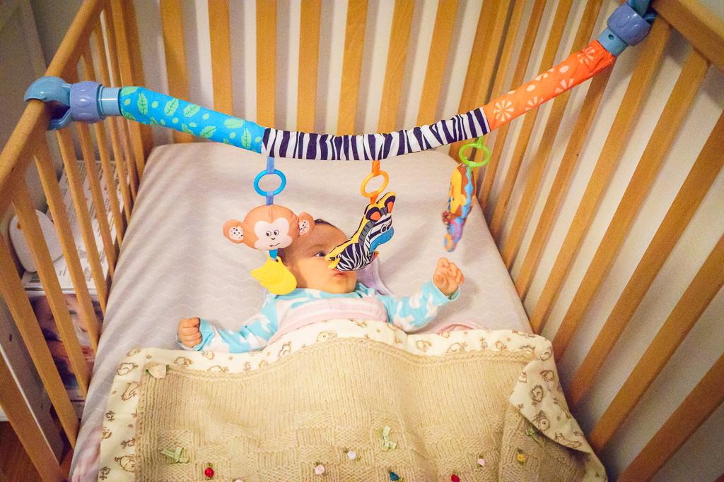 Baby toy activity bar