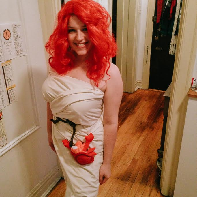 Shipwrecked little mermaid Ariel costume