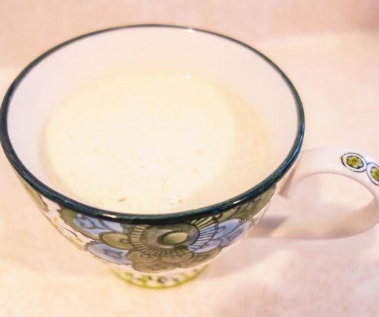 Milky Spiced Ginger Tea