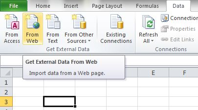 Web Query - Beat Excel!