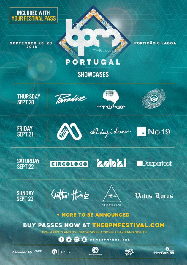 The BPM Festival 2018 Showcases