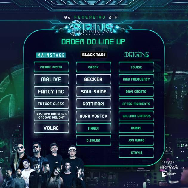 El Fortin Sirius Festival Lineup