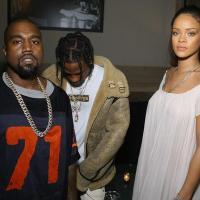Rihanna ,Kanye &Travis Scott at Vogue Paris' 95th Anniversary Party(Photos)