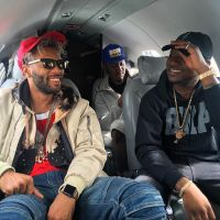 Davido & Crew Fly Private Jet In US (Photos)