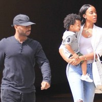 Kelly Rowland Steps Out with Her Son and Husband in Beverly Hills (Photos)