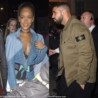 Rihanna Parties With Drake In London (Photos)