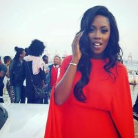 Tiwa Savage Hosts Party On A Yacht To Celebrate Her Album In Durban (Photos)