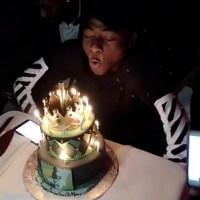 Davido Celebrates 24th Birthday With Custom-made Cake & Friends (Photos)