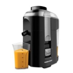 Juicing-Machine-Black & Decker JE2200 400-Watt Fruit and Vegetable Juice Extractor