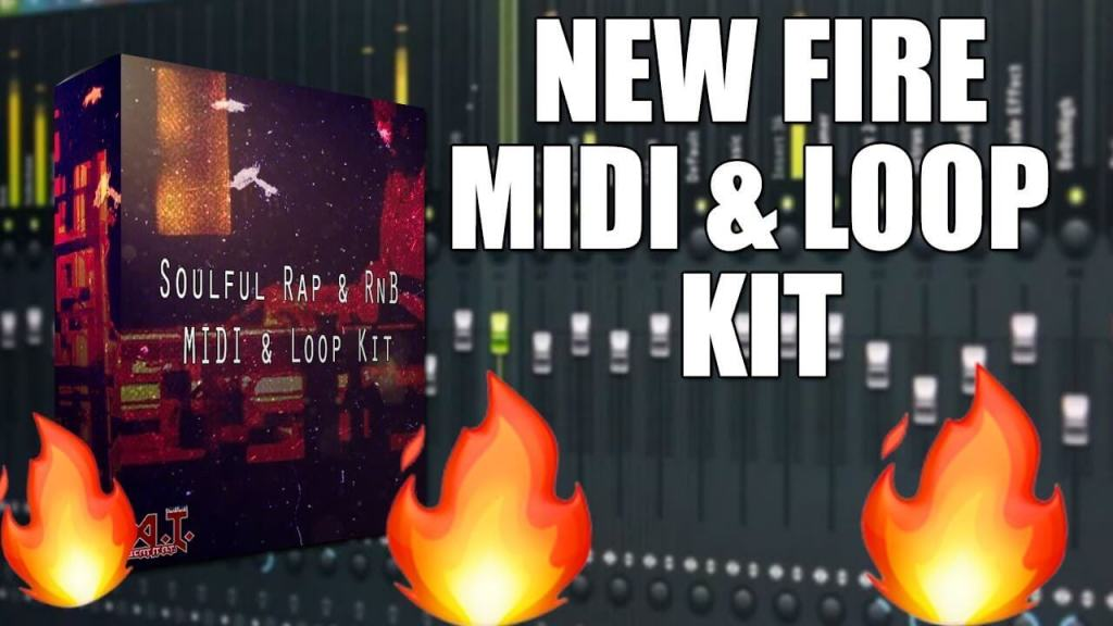 New FIRE MIDI And Loop Kit For Producers & Beat Makers