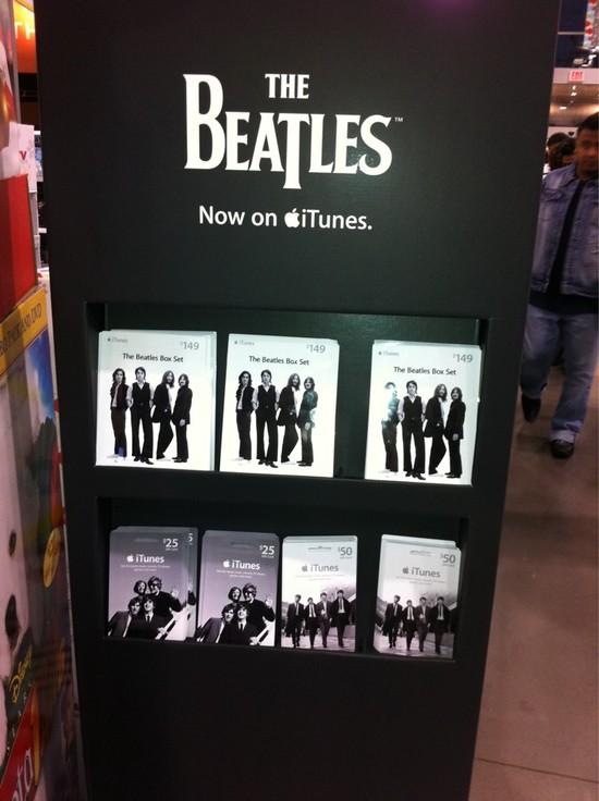 Beatles ITunes Gift Cards Beatles Blog