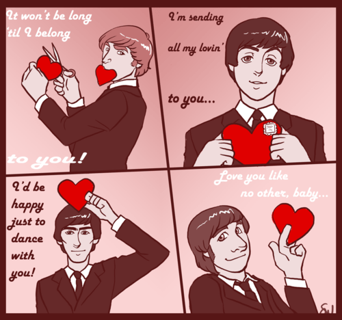 Valentines Day The Beatles Facts Blog