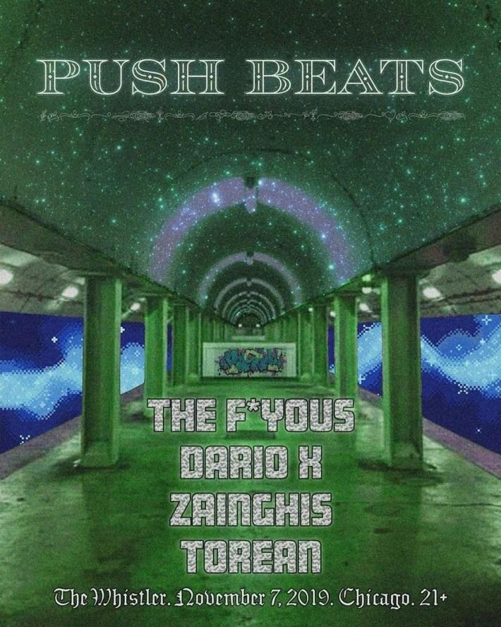 push beats flyer
