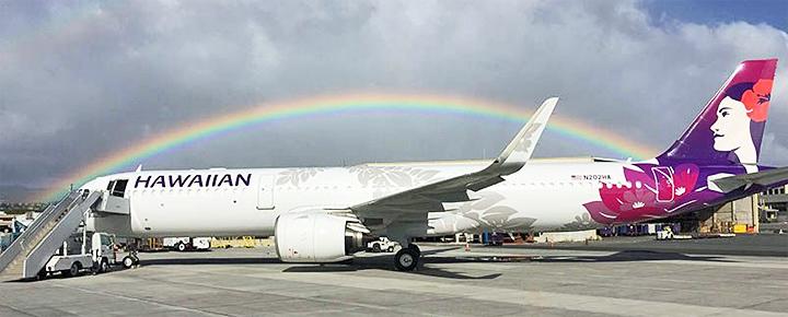 Resultado de imagen para hawaiian A321neo Png