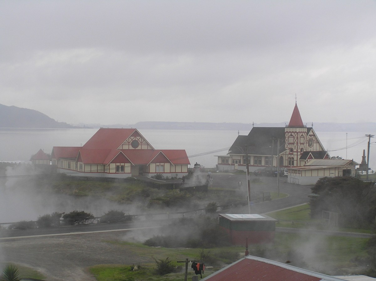 The Maori Village of Ohinemutu