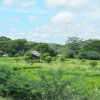 On the Bus from Mandalay to Bagan