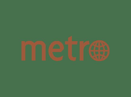 Metro newspaper logo