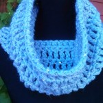 Fabulous Friday Crochet… Infinity Cowls and Sequins…