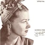 Throw Back Thursday Crochet…. The 1940's