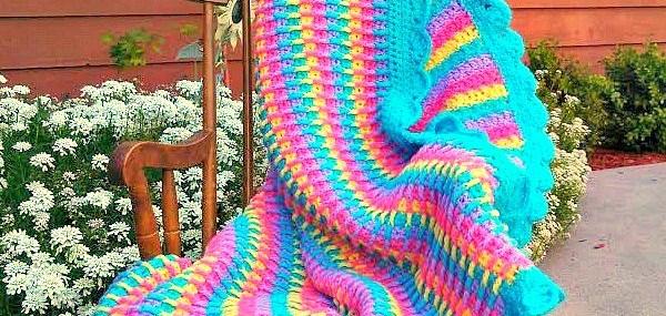 Rainbow Dash Baby Blanket